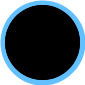 Fashion Big Capacity Functional Diaper BagsBlue (36*15*30cm)